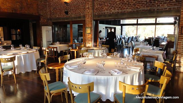 Restaurante da Bodega Bouza - Montevidéu, Uruguai