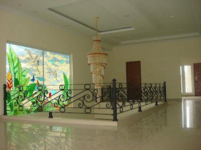 Contoh rumah dengan plafon gypsum