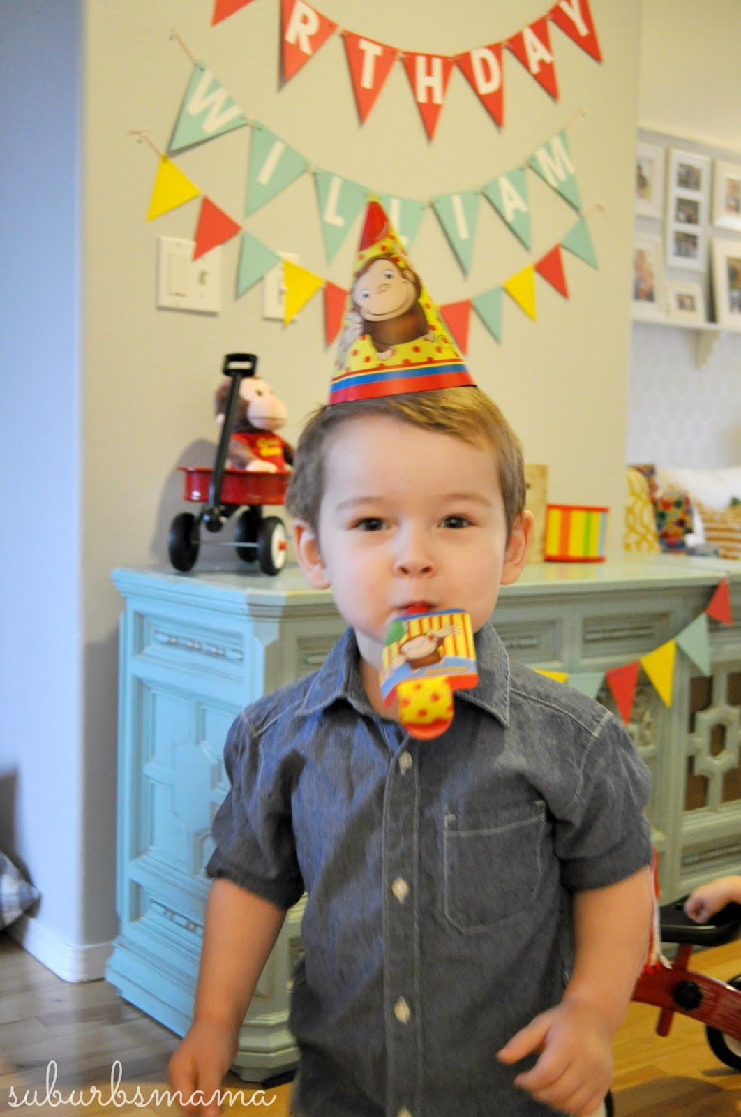 William Adores Curious George So Naturally We Went With For The Party Theme