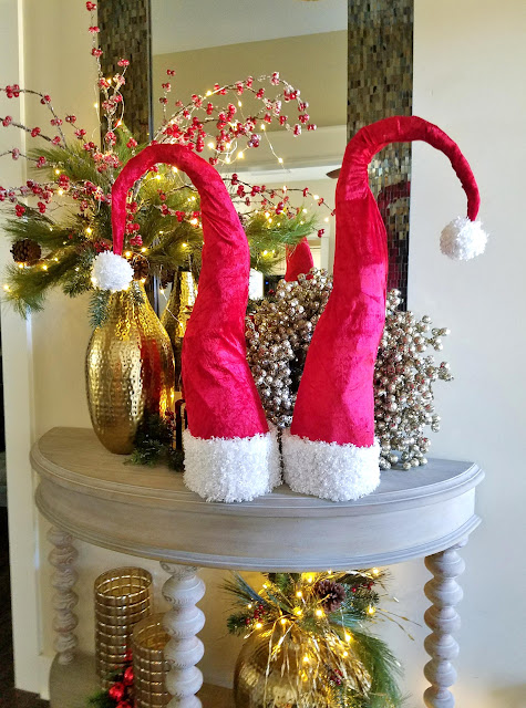 Whimsical Santa hats