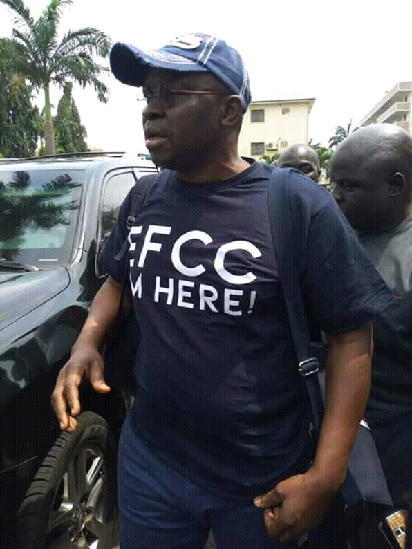 """Fayose not """"opening up"""" to EFCC on anything, he will only defend himself in court, not before a persecuting agent – Aide"""