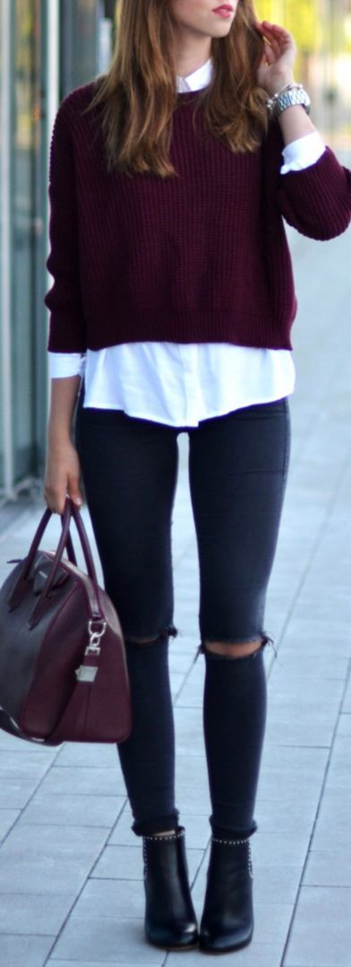 #Fall #Outfits Charming Fall Outfits To Wear This Year