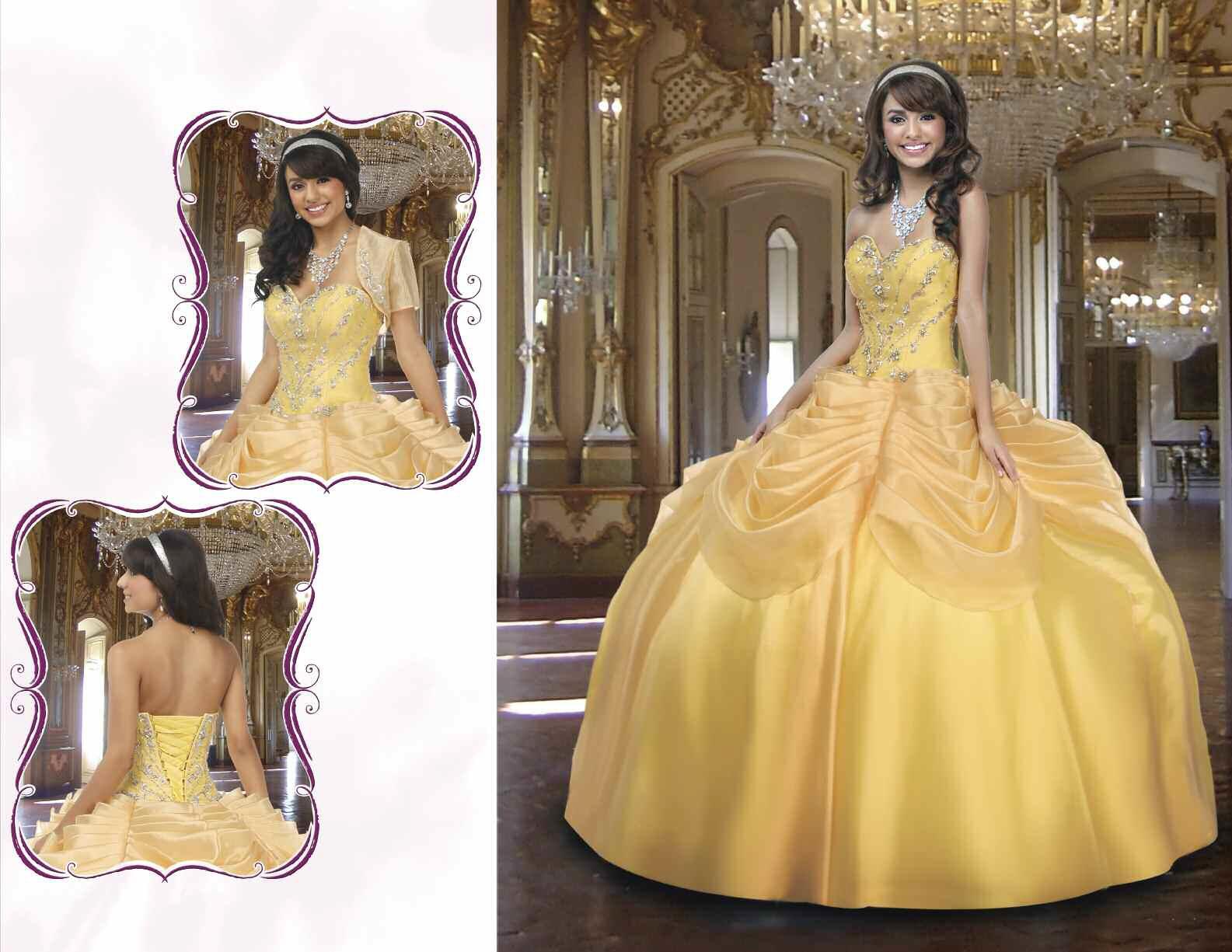 La Bella y la Bestia de Disney - Blog: Vestidos de Quinceañera ...