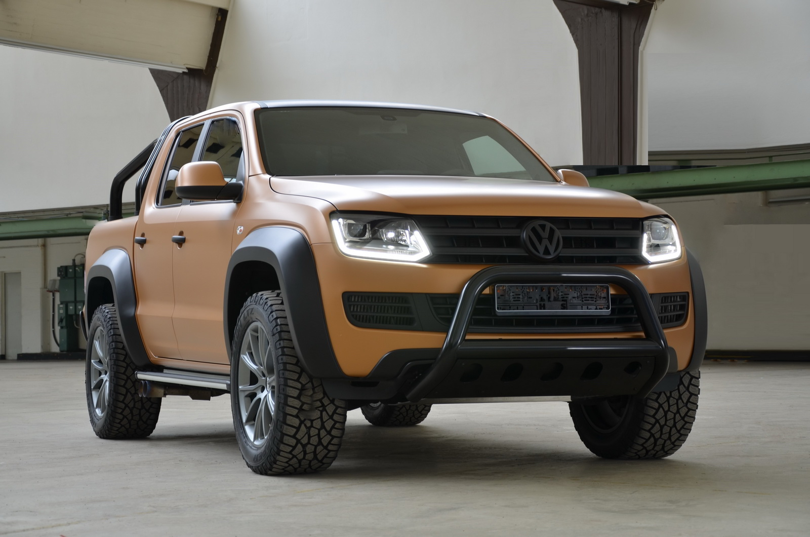 Mtm Vw Amarok V8 Passion Desert Is The European Raptor Carscoops Com