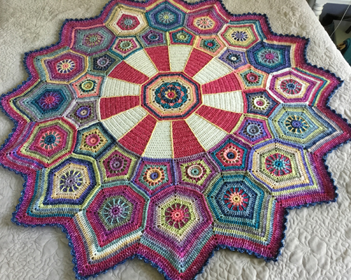 Carousel Blanket - Free Pattern