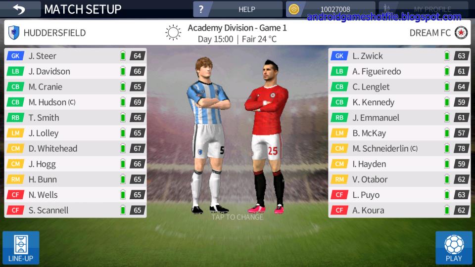Dream League Soccer 2016 v3.07 Mod Apk [Mod Money