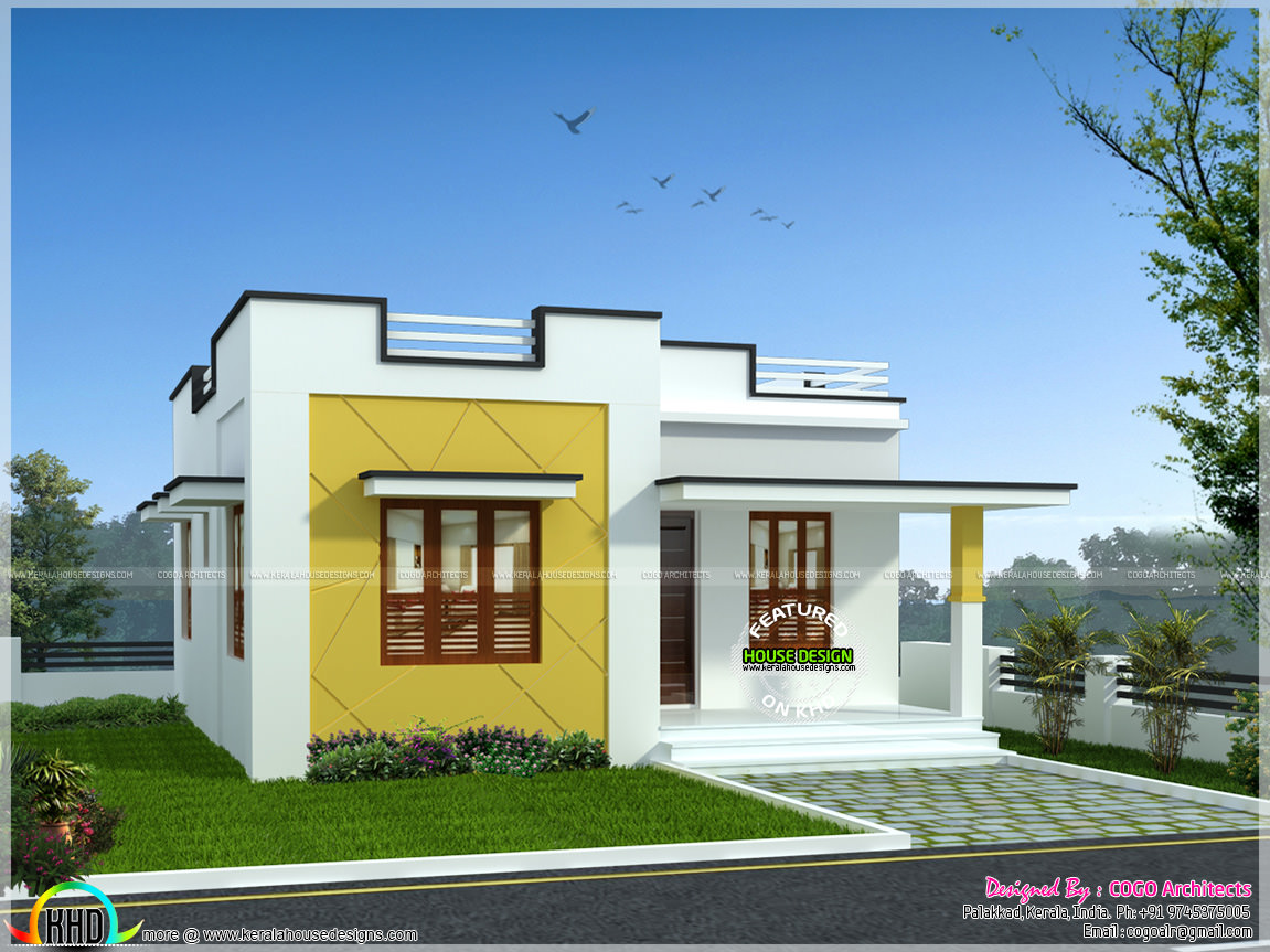 5 Lakh Home Design Part - 30: Rs.12 Lakh Budget Home In Kerala
