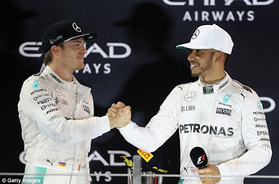 Lewis Hamilton reacts to Nico Rosberg's Shock retirement from Formula One