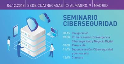 Seminario sobre Ciberseguridad España-India-Brasil imagen