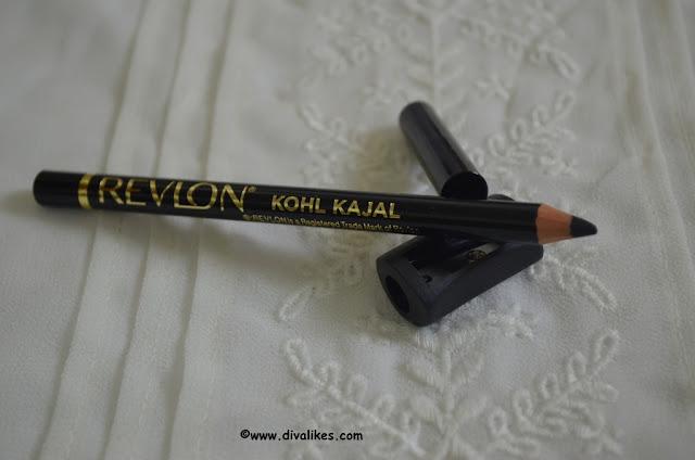 Revlon Kohl Kajal Eyeliner Pencil 011 Black Sharpener