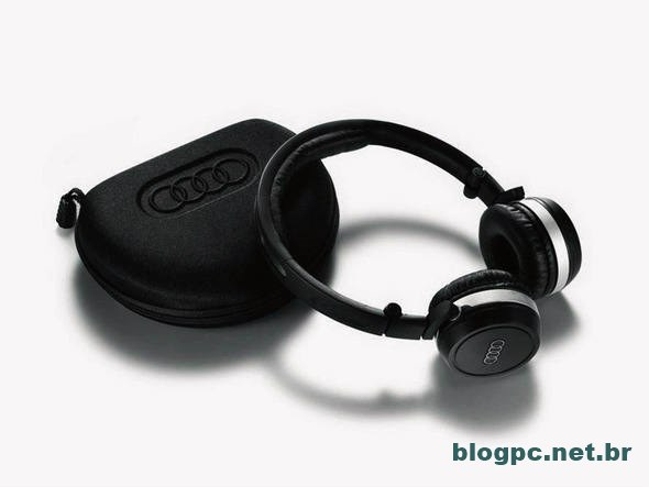 Fones de ouvido Moove contam com todo o estilo da Audi