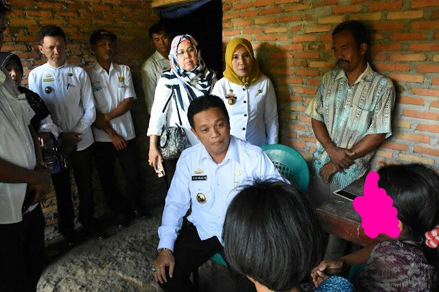 Darurat Pelecehan Anak, Pemkab Lamtim Ambil Sikap Mengunjungi Korban Pencabulan