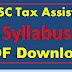 MPSC Tax Assistant Syllabus PDF Download Maharashtra PSC Syllabus