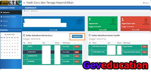 Geveducation:  Mengenal Fungsi Fitur Terbaru dari DHGTK V.2