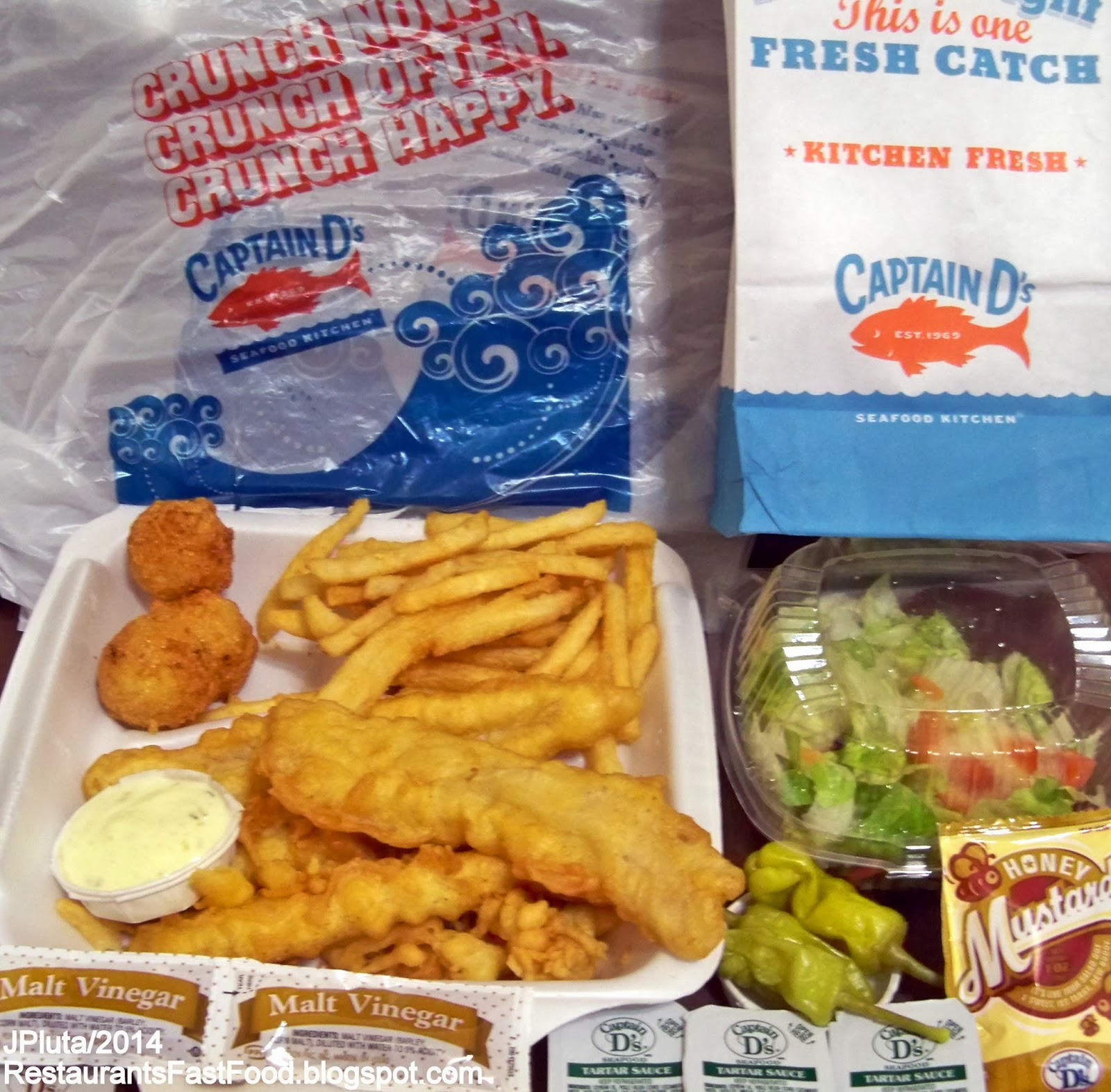 Captain D S Seafood Kitchen Thomasville Georgia Fast Food Restaurant Ga
