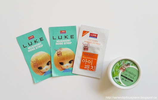 Skin18 Masks Galore: Part 2: Luke Hydrogel Patches, Mugwort Nose Patch & Inoface Modeling Cup Pack (Tea Tree) Reviews