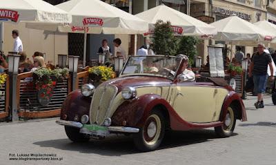 Fiat/NSU 1100 GLÄSER, rajd Krak 2013