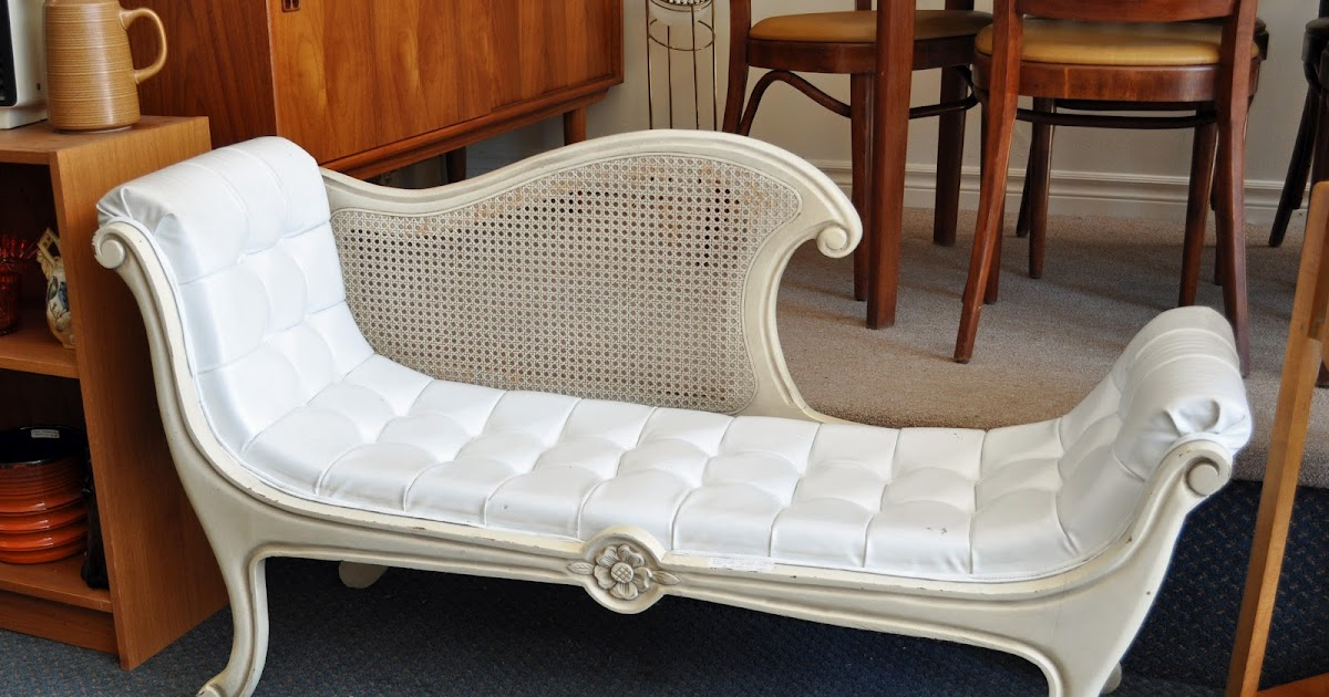 Antiques On Kent Sold Chaby Chic Victorian Stlye Chaise