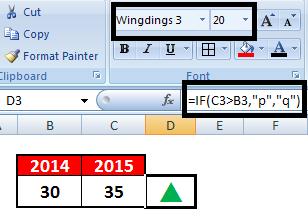 Excel vba end down arrow