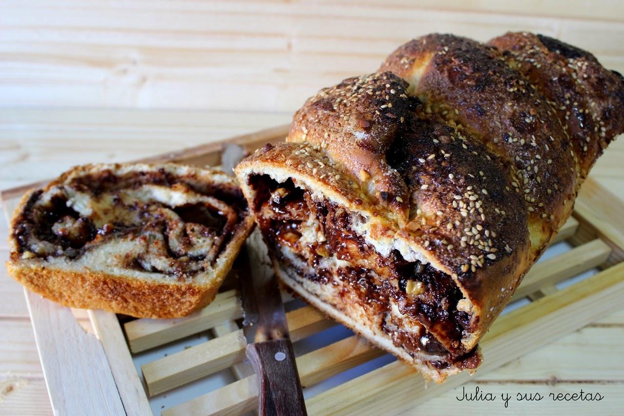 Babka, pan de chocolate. Julia y sus recetas