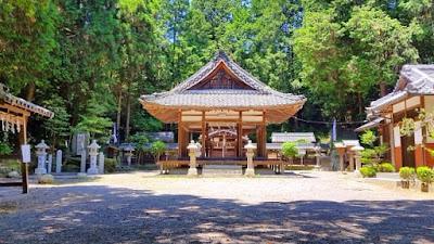 人文研究見聞録:鏡神社(竜王町) [滋賀県]