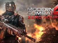 Download Modern Combat 4 Zero Hour MOD APK 1.2.2e Update Terbaru