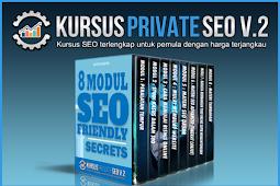Kursus Private SEO V.2
