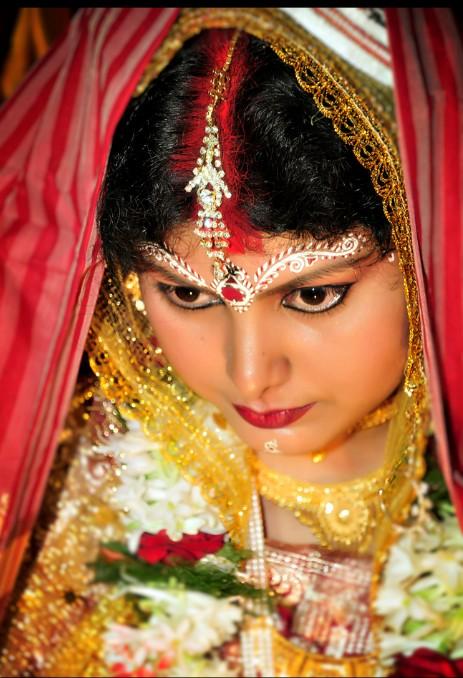 Bengali girl in Marriage