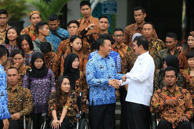 Ada Tontowi/Lilyana, 137 Atlet Nasional Berprestasi Diangkat Jadi PNS Lewat Jalur Khusus