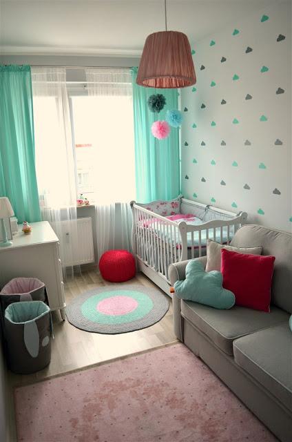 pokój dziewczynki, ikea, pokój dziecięcy, pokój dziecka, pastelowy pokój, styl skandynawski