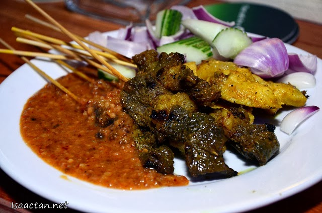My favourite Satays on a plate