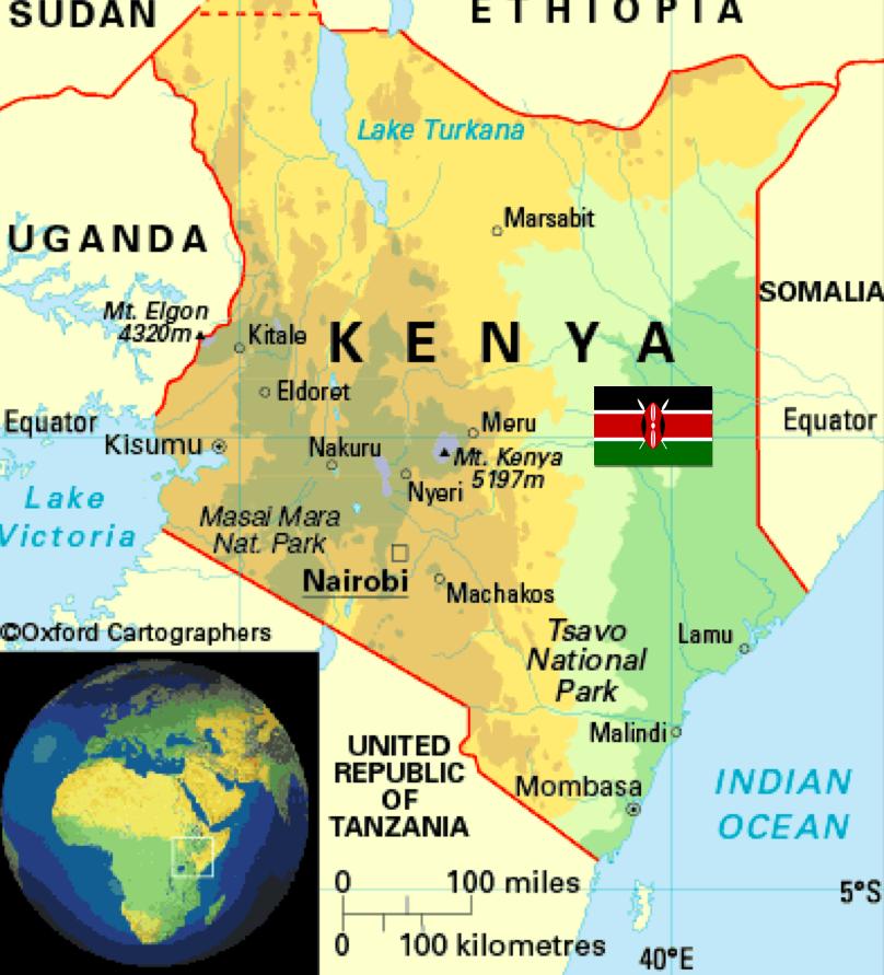 Kenya Maps