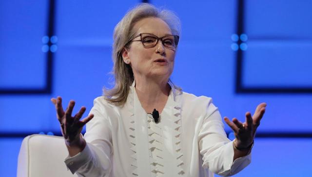 Meryl Streep's remarkably tone-deaf deflection on Harvey Weinstein