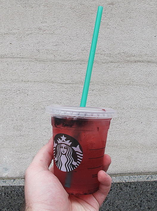 The Blog About Stuff Starbucks Refresher Beverages Very Berry