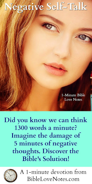 thinking 1300 words a minute, 2 Corinthians 10:5, taking thoughts captive