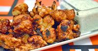 Κουνουπίδι φούρνου με σάλτσα barbeque - by https://syntages-faghtwn.blogspot.gr