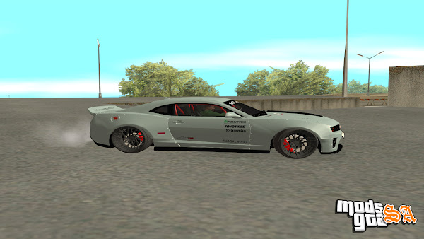 Chevrolet Camaro ZL1 2012 Ngasal Works Kit para GTA San Andreas