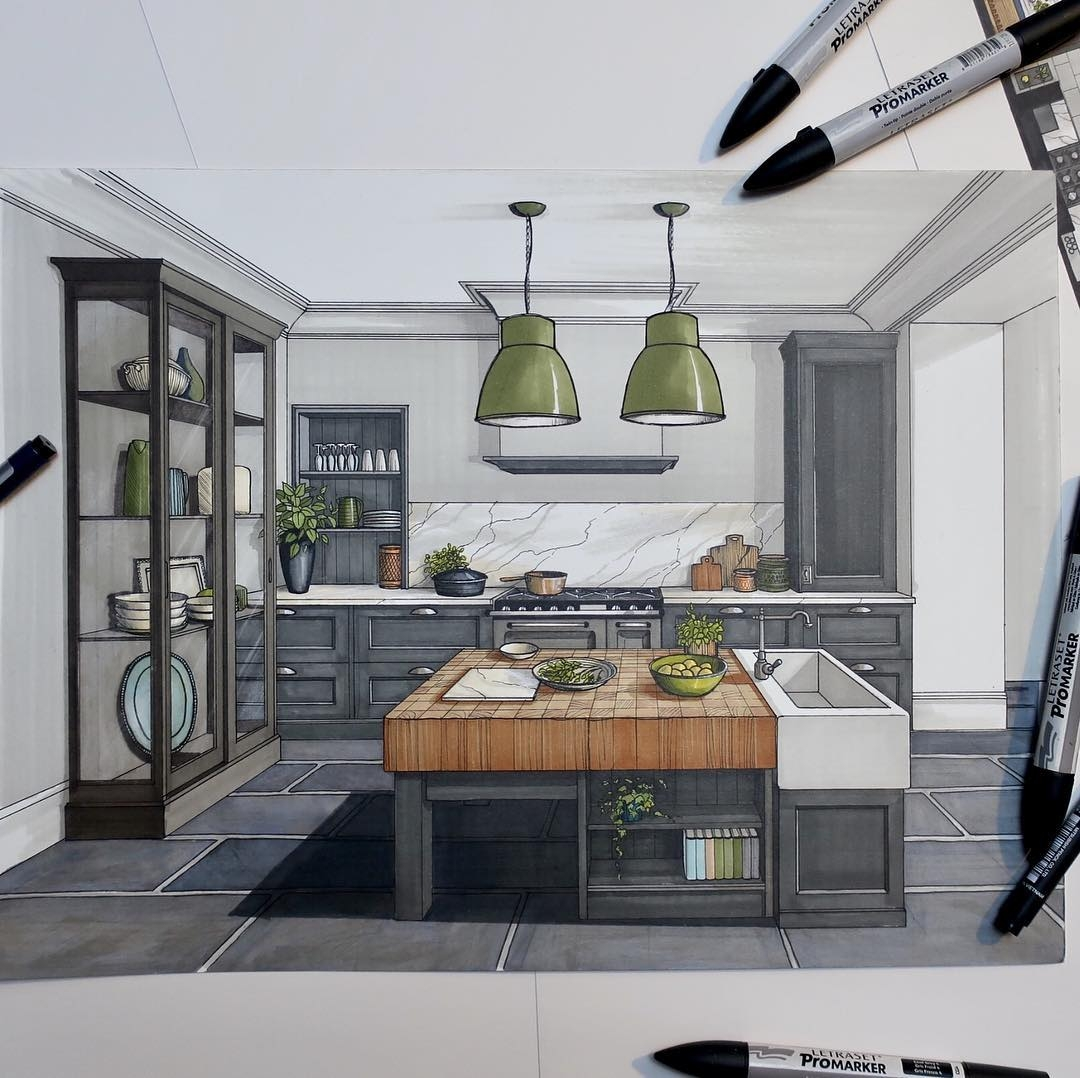05-Kitchen-Malcolm-Begg-Interior-Design-Drawings-of-a-Victorian-House-www-designstack-co