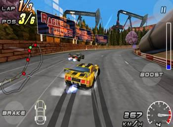 game balap mobil 3d terbaik raging thunder 2