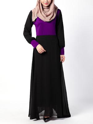 Long Dress Muslim Terbaru Desain Mewah Incaran Hijabers Masa Kini