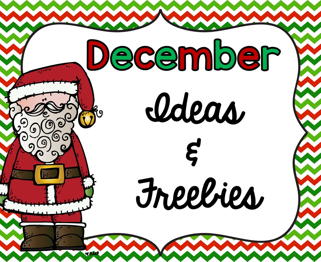 Smiling And Shining In Second Grade December Ideas And Freebies