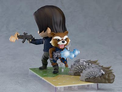"""Figuras: Detalles del Nendoroid de Soldado de Invierno de """"Avengers: Infinity War"""" - Good Smile Company"""