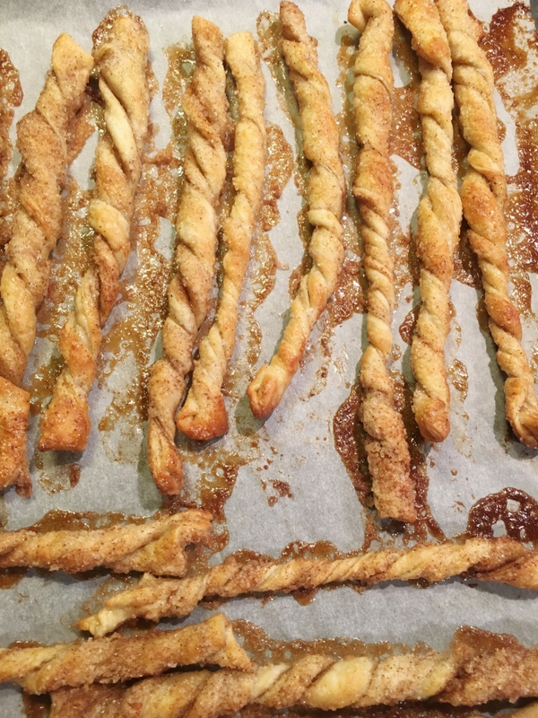 Cinnamon Twists - Only 4 ingredients to make these light & flaky cinnamon sugar twists| Ioanna's Notebook