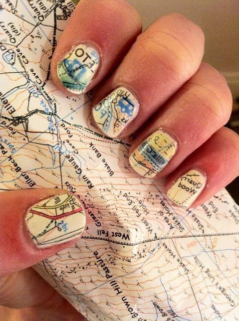 LA FOTO DE HOY: map nails 1
