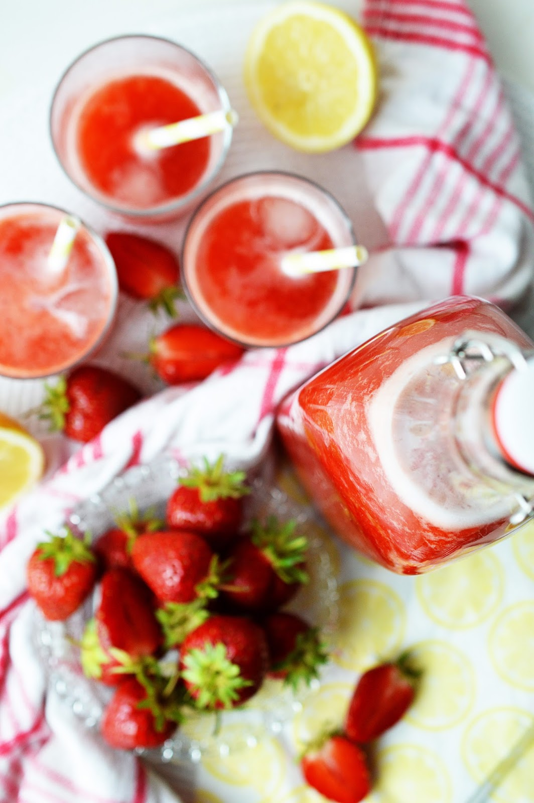 Strawberry Lemonade Recipe | Motte's Blog