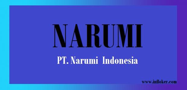 Lowongan Kerja Via POS PT. Narumi Indonesia - Terbaru Bagian Operator Produksi