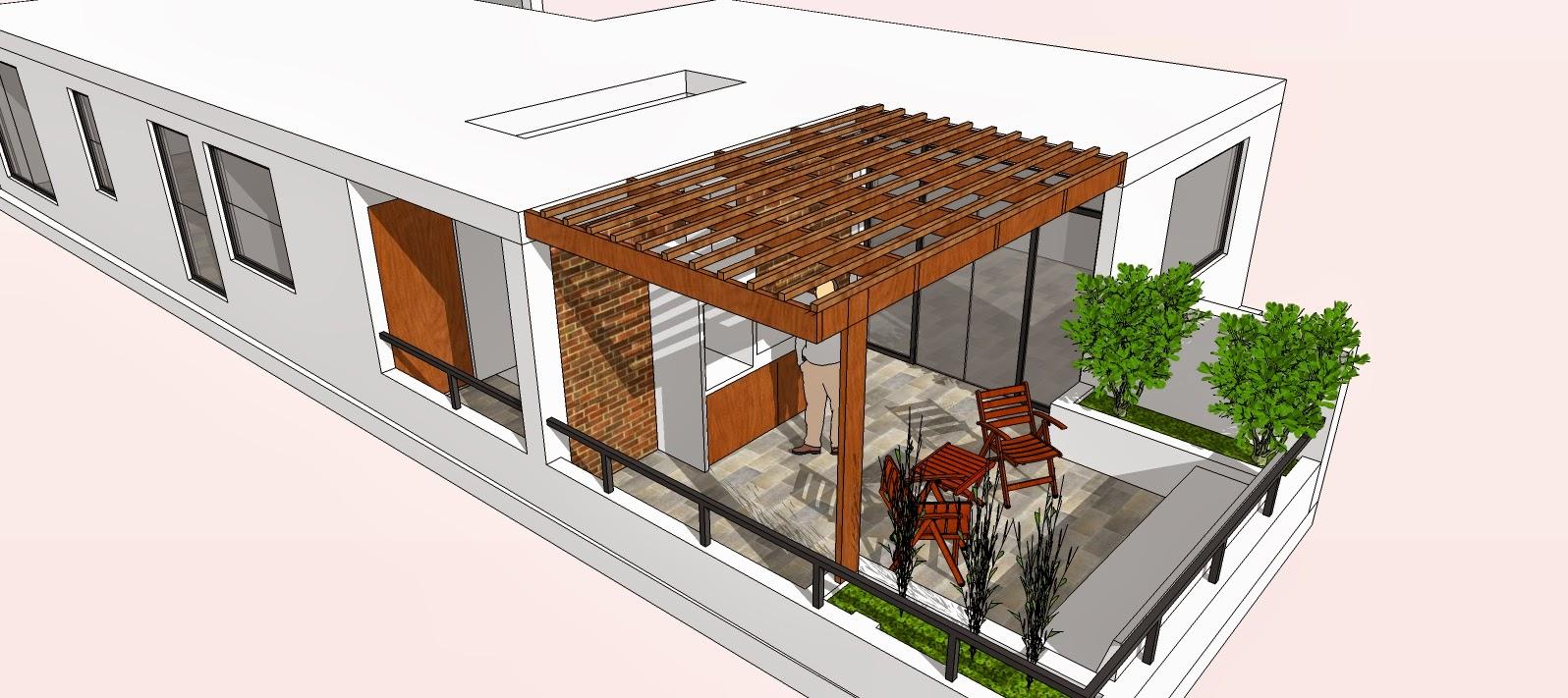 Cristian Campos Diseño Previo Diseño De Terraza Para