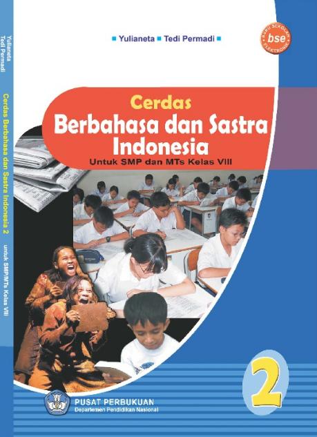 Download Buku Siswa KTSP SMP dan MTs Kelas 8 Cerdas Berbahasa dan Sastra Indonesia 2