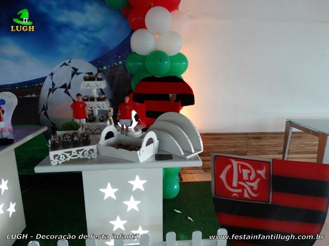 Decoração de mesa temática Futebol - Festa de aniversário infantil