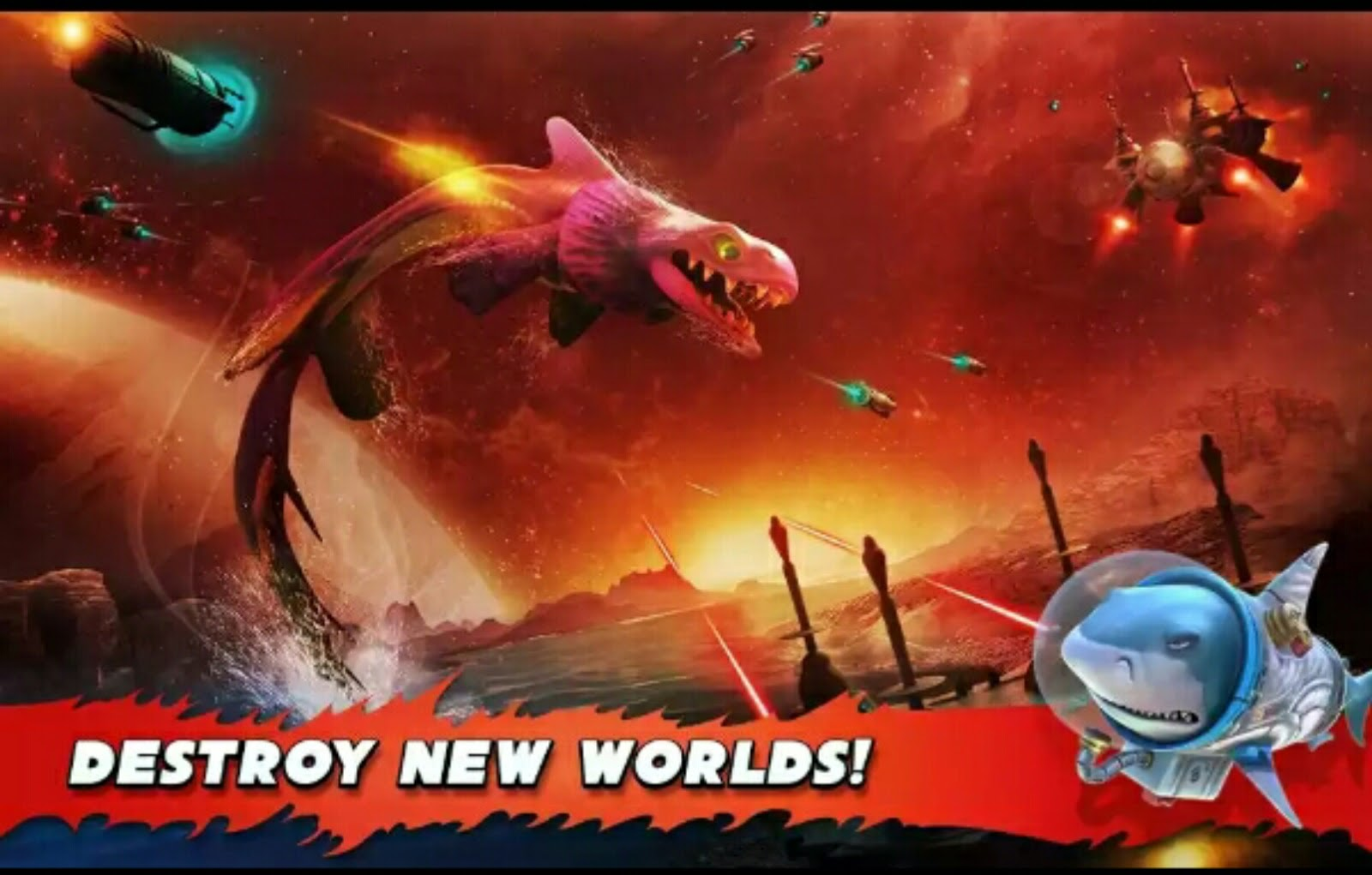Hungry Shark Evolution v4.5.0 MOD APK (MOD Coins/Gems